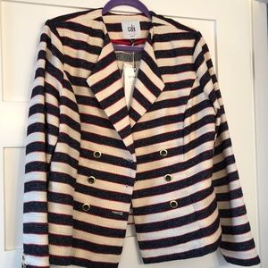 CAbi Cruise Striped Blazer Style #5094